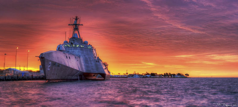 Littoral Combat Ship USS Independence LCS-2
